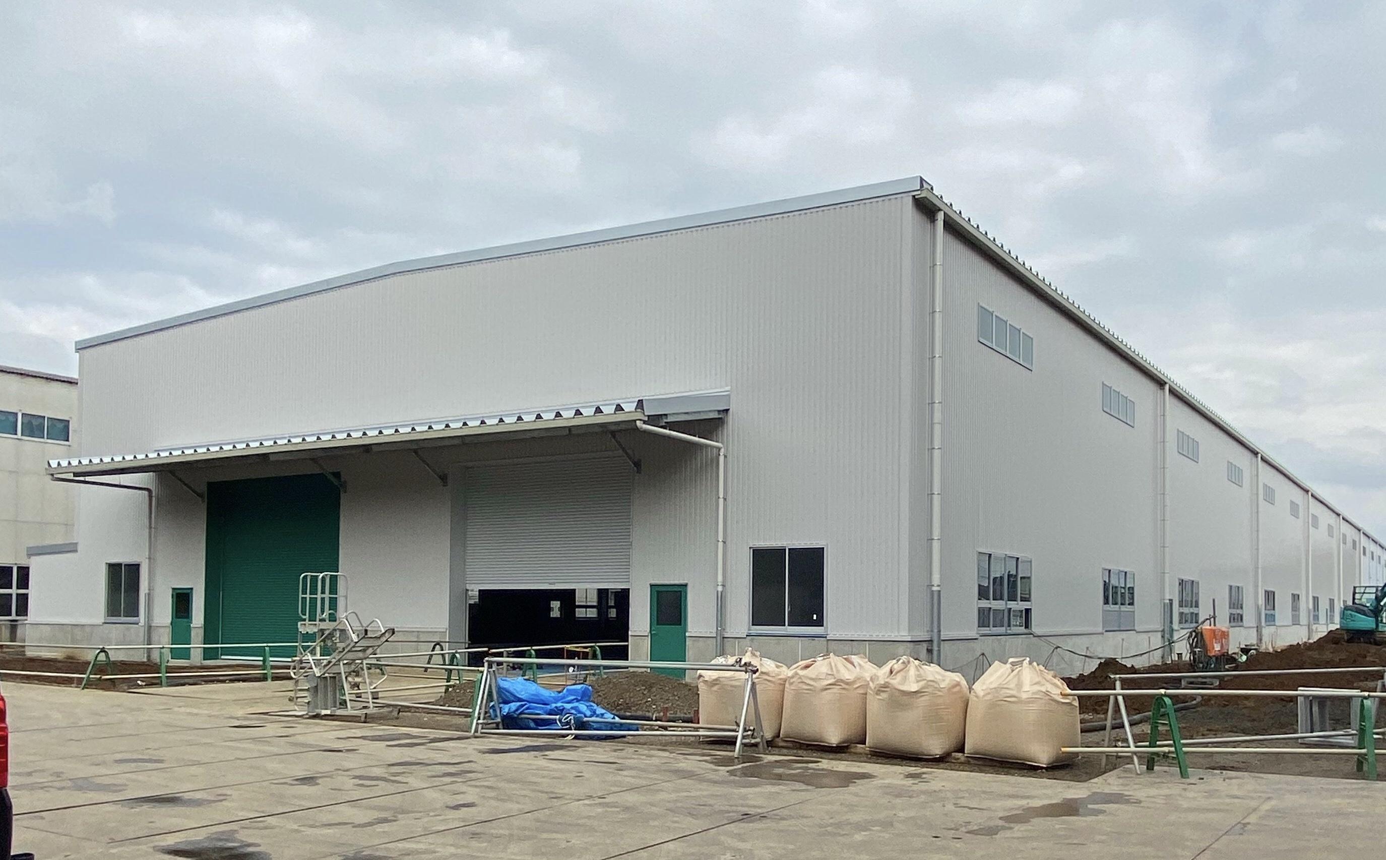 (株)新家工業千葉工場第二倉庫再増築工事