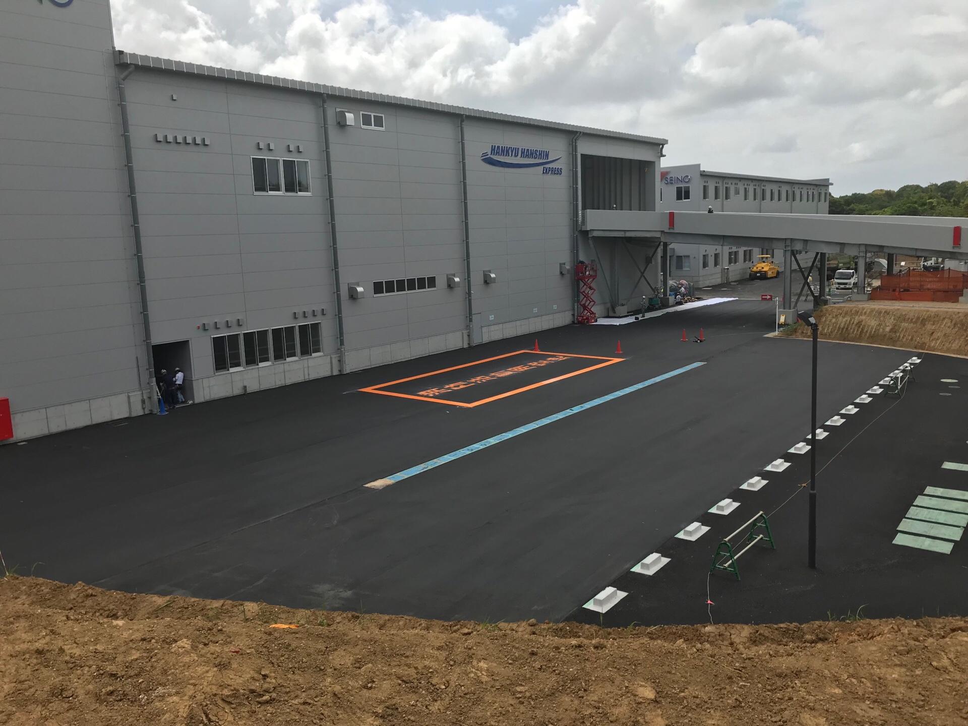 西濃運輸成田支店新築工事